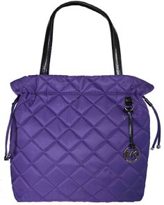 Michael Kors Purple Item Quilt XL Drawstring « Clothing Impulse