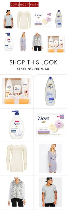 """""""Dove Body Wash, Deep Moisture Pump 34 ounce"""" by jennifergfranklin ❤ liked on Polyvore featuring beauty, Dove, American Vintage, Love, Calvin Klein and ASOS"""