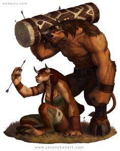 World of Warcraft: Tauren World Of Warcraft, Warcraft Art, Character Concept, Character Art, Character Design, Character Inspiration, Warcraft Characters, Fantasy Characters, Fantasy Races