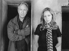 Alan Rickman and Megan Dodds