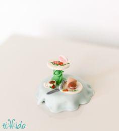 tea party cupcake tutorial