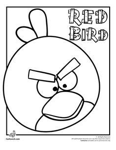 Angry Birds Red Bird   Cartoon Jr.