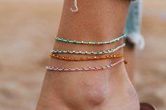toe rings and anklets Pura Vida Bracelets, Ankle Bracelets, Bracelets For Men, Fashion Bracelets, Fashion Jewelry, Cute Jewelry, Body Jewelry, Women Jewelry, Jewellery