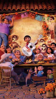 Wall Paper Phone Disney Coco 17 Ideas For 2019 Disney Pixar Movies, Cartoon Movies, Disney Cartoons, Disney Phone Wallpaper, Cartoon Wallpaper, Wallpaper Desktop, Disney Magic, Disney Art, Coco Film
