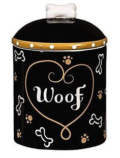 Dog Lover Products 116378: Love And Milk Bones Ceramic Dog Treat Jar -> BUY IT NOW ONLY: $99.72 on eBay!