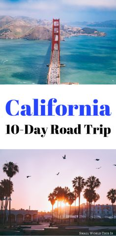 A California road trip itinerary including what to see where to eat and where to stay in San Francisco Lake Tahoe Yosemite Death Valley and Los Angeles Us Road Trip, Family Road Trips, Family Vacations, Family Travel, Big Sur, Canada Travel, Travel Usa, Travel Info, Travel Europe