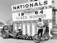 Big Daddy Don Garlits Swamp Rat VIb, First 200 mph, Won 1964 Nationals,