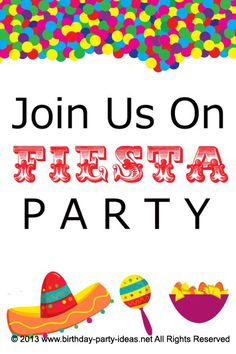 Fiesta birthday party theme for 30th birthday. In order to have fun and to make all your guests to have the time of their lives, throw a Fiesta Birthday Party #party #birthday #decoration #cakes #favors #themedbirthday #games #printable #quotes #invitation #sayings #birthdaypartyideas #bpartyideas #fiesta #mexican