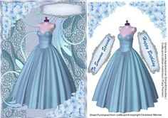 A lovely card to make and give to anyone on there special day Lovely Lilac Dress and Hydrangers a lovely card has two greeting tags and a blank one for you to choose the sentiment, Lavender Dresses, Lilac Dress, Female Fashion, Fashion Beauty, Womens Fashion, Blue Evening Dresses, Blue Dresses, Women Accessories, Fashion Accessories