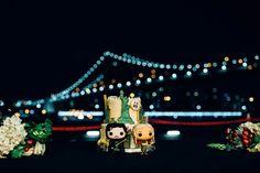Offbeat Brooklyn Bridge Park Wedding | Image by Adriano Ranieri
