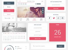 Free Eye Candy UI Kit ‪#‎free‬ ‪#‎UI‬ ‪#‎Element‬ ‪#‎Freebies‬