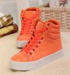 Fashion Candy Color Hip Hop Women's Hip Hop High Sport Shoes Boots Sneakers | eBay