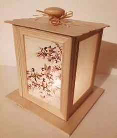 30 egyedi kézzel készített karácsonyi ajándékötlet Decoupage, Decorative Boxes, Diy, Home Decor, Lanterns, Trapper Keeper, Projects, Jokes, Funny