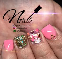 57 Ideas nails stiletto cortas for 2019 Sassy Nails, Love Nails, Fun Nails, Pretty Nails, Gel Toe Nails, Nail Manicure, Acrylic Nails, Nail Candy, Fabulous Nails