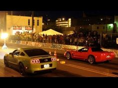 Downtown Sioux City is not where you would expect to see street racing occuring, but for the year, this amazing event went down on a HOT July day and ove. Street Drag Racing, Pack And Play, Sioux City, Road Rage, Ova, Rock N, My Ride, Hot Wheels, Dream Cars