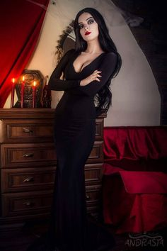 Morticia Addams by Andrasta