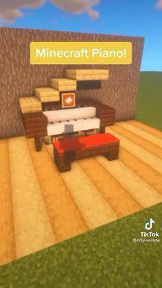 Minecraft Cottage, Easy Minecraft Houses, Minecraft House Tutorials, Minecraft Plans, Minecraft Videos, Amazing Minecraft, Minecraft Tutorial, Minecraft Blueprints, Minecraft Creations