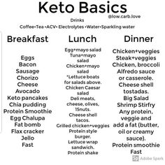 Keep it simple 👍🙌 How does your favorite keto meal look like? If you'r… Keep it simple 👍🙌 How does your favorite keto meal look like? If you're a Keto newbie… don't over think it. If you have to ask yourself… Keto Food List, Food Lists, Keto Diet Grocery List, Keto Shopping List, Diet Menu, Low Carb Recipes, Diet Recipes, No Carb Foods, High Fat Keto Foods