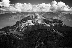 La face Est de Chamechaude vue depuis le sommet de la Grande Sure - Massif de la Chartreuse - Randonnée Montagne Nature Isère Alpes © L'Oeil d'Édouard