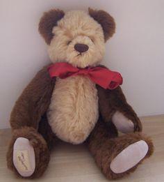 """10"""" HUNTER  DEANS  TEDDY BEAR CLUB MEMBERSHIP BEAR"""