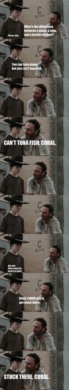 20 Rick Grimes Dad Jokes That Are So Bad That They're Good