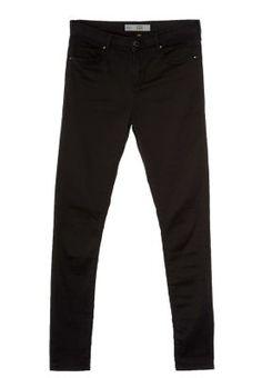 Tilaa ilman lähetyskuluja Topshop LEIGH - Slim fit -farkut - musta : 49,95 € (19.12.2014) Zalando.fi-verkkokaupasta.