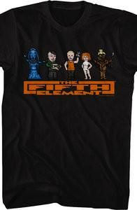 Fifth Element T-Shirt made by T-Line in collections: Non Movies: The Fifth Element, & Department: Mens, & Color: Black Element T Shirt, Superman Shirt, T Line, Fifth Element, 8 Bit, Sweatshirts, Tees, 80s Movies, Mens Tops
