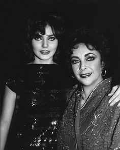 Elizabeth Taylor and Maria Burton...Uploaded by www.1stand2ndtimearound.etsy.com