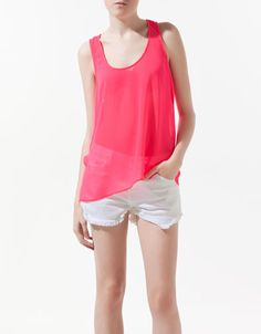 OPEN-BACK TOP - Shirts - Woman - ZARA United States 35