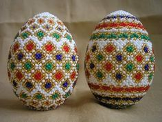Изготовление Пасхальных яиц