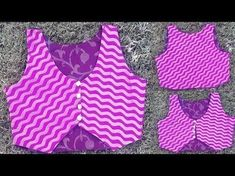 In this video i will teach you how to make jacket for kurti drafting cutting and stitching in hindi. watch this easy step by step video tutorial to do it you. Kurti Neck Designs, Dress Neck Designs, Sleeve Designs, Blouse Designs, Sewing Clothes Women, Diy Clothes, Clothes For Women, Jacket Style Kurti, Shirt Tutorial