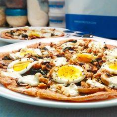 Tuňáková fitness pizza - zdravý recept Bajola Pizza, Fitness, Ethnic Recipes