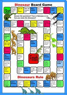 Dinosaur Boardgame