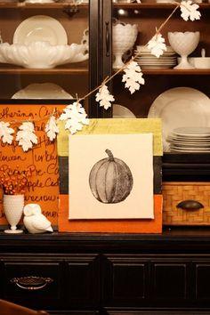 15 Fall Garland Ideas {DIY Decor} - EverythingEtsy.com