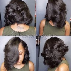Flawless bob @crownedbyher - https://blackhairinformation.com/hairstyle-gallery/flawless-bob-crownedbyher/