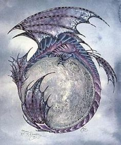 Amy Brown Moon Dragon Print                                                                                                                                                      More