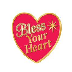 Heart Health | Home > Bless Your Heart Women's Heart-Health Awareness Lapel Pins