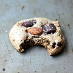 Flourless Almond Butter Dark Chocolate Chunk Cookies