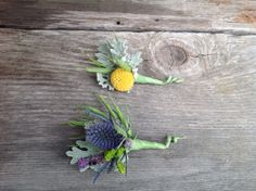 love these darling little boutonnieres by Dragonfly Floral #dragonflyfloral #boutonniere #winecountrywedding