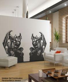 Vinyl Wall Decal Sticker Gargoyles #OS_MB536 | Stickerbrand wall art decals, wall graphics and wall murals.