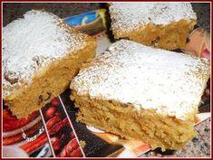 Vše smícháme dohromady, já nalila na plech vyložený pečícím papírem a pečeme dle potřeby. Objevila jsem tuhle buchtu někde na netu, je výborná,... Baby Food Recipes, Sweet Recipes, Dessert Recipes, Cooking Recipes, Healthy Recipes, Desserts, Carrot Cake, Vanilla Cake, Banana Bread