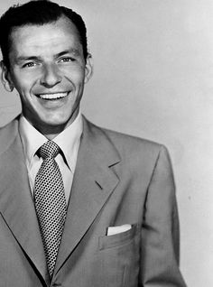 Frank Sinatra, not the most moral of all the stars, but I would argue one of the most talented.