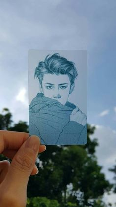 Fanart Sehun EXO Sehun, Art Sketches, Art Drawings, Art Et Design, Exo Fan Art, Bts And Exo, Kpop Fanart, K Idols, Art Inspo