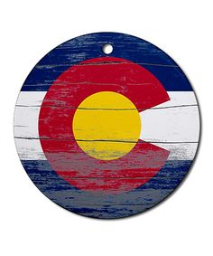 Colorado Old Paint Ornament by  #zulily #zulilyfinds