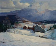 View Mount Mainsfield in Winter by James King Bonnar on artnet. Browse upcoming and past auction lots by James King Bonnar. Painting Snow, Winter Painting, Painting Prints, Winter Landscape, Landscape Art, Landscape Paintings, Paintings I Love, Beautiful Paintings, Beautiful Scenery
