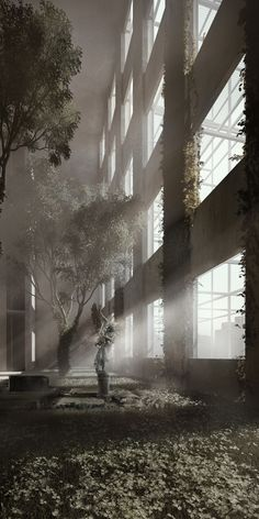 Gallery of This Architectural Movie Uses an Abandoned Building in Lebanon to Create a Modern Fairy Tale - 9 Abandoned Buildings, Lebanon, Fairy Tales, Sketch, Architecture, Create, Gallery, Modern, Artwork