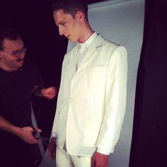 Beyond the scenes #2 (www.gaistefano.com) #Overtake #OvertakeStudio #OvertakeSkin #Handmadeinturin #skinjacket #StefanoGai #photos #vogueitalia #elegancemen #formalwear #elegantwear #fashion #instafashion #surprise #backstage #event #shootings #bespoke #modauomo #tailoring #menswear #italianbrand #totalwhite #fashionstyles #fashionmen #navysuits #menstyles #suits #whitesuits