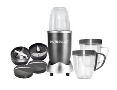 Nutribullet Blender can mix the most incredible smoothies made from fruit, vegetables or a combination of both.  Easy to use and easy cleanup.