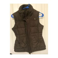 Abercrombie & Fitch Kids size large vest, brown. Very lightly worn brown kids vest from Abercrombie. Size large. Zips and buttons. In great condition. Abercrombie & Fitch Jackets & Coats Vests
