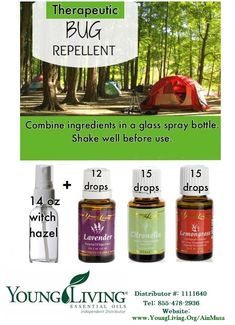 Prepper Essential Oils : My Natural Bug/Insect Repellent That's Skin Friendly